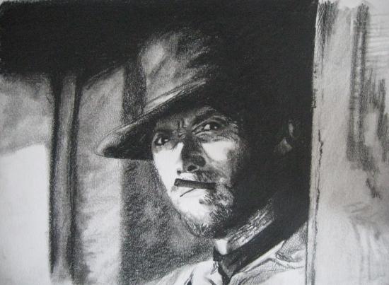 Clint Eastwood by juliet